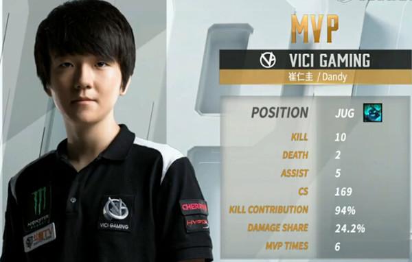 【战报】VG打出阵容优势 最终获胜